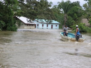 Crique Sarco Flooding