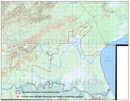 Guatemalan Navy Aggression